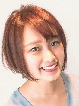 """ヘアードットツミキ(HAIR.TSUMIKI)の写真/幅広い世代から高支持◎魅力を最大限に引き出してくれるショートヘアで""""自分らしさ""""と""""再現性""""が叶う!"""