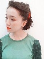 ブロック(bloc)ショートボブで簡単☆ねじりでつくるヘアアレンジ