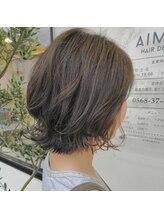 エメ ヘア デザイン(AIMER HAIR DESIGN)カジュアルレイヤーボブ