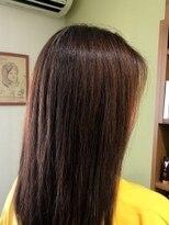 """《HAIR SALON Occhi》天然ヘナカラー"""