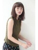 アンアミ オモテサンドウ(Un ami omotesando)【Unami】うぶバング☆ノームコアミディアム☆島田梨沙