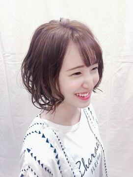 グランヘアー 南店(GRAN HAIR)大人エアリー☆グラデーションボブ 【GRAN HAIR南店】