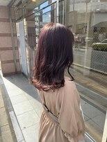 ロイ(roy)☆柔らかい色味・透明感がたまらないピンクカラー☆#ベージュ