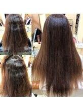 ヘアーズ フェミニン 中山店(Hair's Feminine)艶髪酸性ストレート