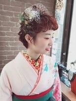 アリス ヘア デザイン(Alice Hair Design)Alice☆ショートヘアの卒業アレンジ