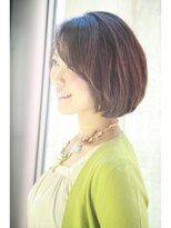 ダミア(DAMIA)18■40代からのヘアスタイル~表情が明るく見える横顔