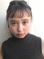 ソーコ(SOCO)【SOCO】カジュアルアレンジヘアセット結婚式二次会束感前髪