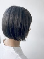 ヘアメイク オブジェ(hair make objet)秋色ダークグレージュ
