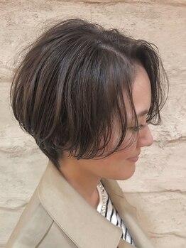 オレンジポップ 流山おおたかの森店(ORANGE POP)の写真/[予約不要/Cut最終受付20時]毛先1mmにこだわる似合わせ技術で、お手入れ簡単な褒められヘアに◎