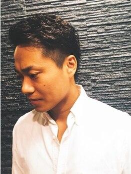 """ヒロギンザ 御茶ノ水店(HIRO GINZA)の写真/気になる白髪を染めて""""若見えスタイル""""を目指しましょう!おしゃれメンズから高支持率のモテる男のサロン★"""