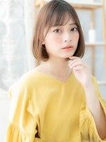 モッズヘア 上尾西口店(mod's hair)シースルーバング艶カラー前下がり大人ボブa上尾20代30代40代!