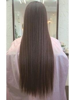 ブラウン ブラウンの写真/髪に優しくカラーチェンジ**ダメージレスな質感と艶はまるでトリートメント後の美しさ♪
