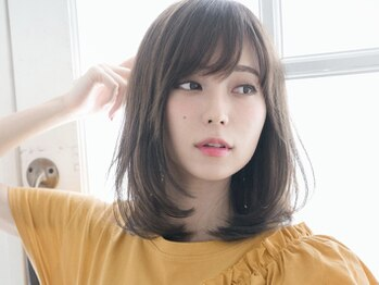 アメリつくば天久保(Amelie)の写真/シンプルスタイルで貴方を最大限可愛くみせる♪クセや毛量を調節して伸びてもまとまりやすい髪に