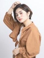 オーブ ヘアー アムール 学芸大学店(AUBE HAIR amour)【AUBE HAIR】耳掛けショート