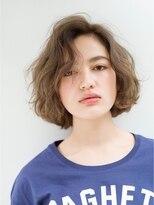 ローネス(LONESS)【LONESS】小顔にみえる☆かきあげ前髪ショート