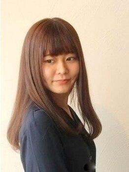 サンヴィータ(Scin vi te)の写真/うねりやクセのお悩みに☆素髪の状態を見極め、ダメージを最小限に抑えたナチュラル質感を叶えてくれる♪
