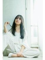 オゥルージュ(Au-rouge noma)【aurouge noma柳瀬香里】ツヤツヤストレート×ブルージュカラー
