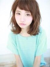 アグ ヘアー ブルー 四日市店(Agu hair blue)ラフ可愛☆ミディウェーブ