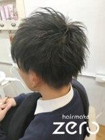 ヘアーメイクゼロ 坂戸駅前店(hairmake zero)メンズ スモーキーアッシュ