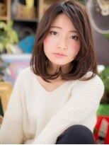 "*+COVER HAIR+*…奥行き感ある""ナチュリラ""ワンカールa"