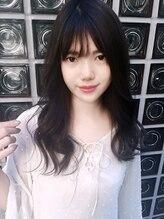 ケアコウベ(CARE Kobe)☆シースルーバング☆オルチャンヘア stylist 中村