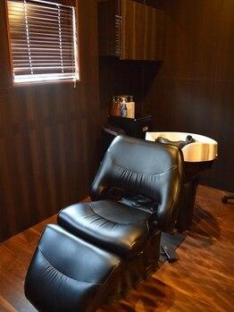 プラージュスパ(Plage Spa)の写真/《資格取得者による本格ヘッドスパ》頭皮・髪のお悩み解消!個室で癒しの空間*シャンプーも選べる♪
