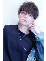 リップスヘアー 銀座(LIPPS hair)ナカオ考案!スキャッターパーマ3