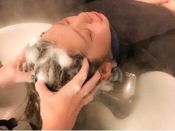 ヘアセラピー サラ(hair therapy Sara)の写真/[荒井☆朝9時~営業]Saraのヘッドスパファン必見!!『プレミアムスパ』新規の方、カットとセットで¥6380
