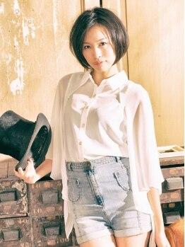 グラード(Grado)の写真/ナチュラルで女性らしいスタイルならお任せ♪あなたに似合う『only one style』を提案します☆