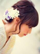 ショコラナンバ(Chocolat NAMBA)キレイ女子☆浴衣HAIRセット