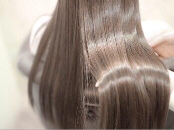 ジアン 梅田(GIEN)の写真/【茶屋町/梅田】Aujuaソムリエ在籍★話題の《ミネコラ/Aujua》で髪質改善◎あなたに合ったケアで美髪に♪