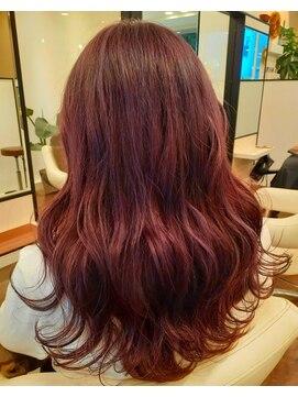 ソイル ヘアー(soil hair)ピンクバイオレット