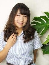 プライベート ヘアーサロン アイリス(Private Hair Salon Iris)【毛先はふんわりと】セミロングローレイヤー