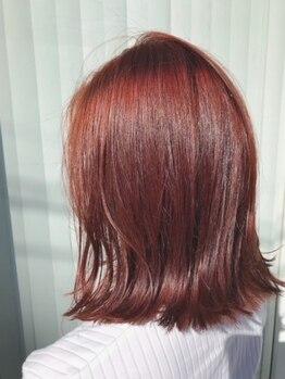ヘアアンドメイク ジェイジェニック(HAIR&MAKE J GENIC)の写真/当店は《ノンジアミン》に強い!髪にも地肌にも優しいカラーで私らしく…。褪色・染め上がりもナチュラル♪