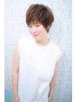 モリオ 池袋店(morio FROM LONDON)【morio池袋】人気の髪型 大人かわいいナチュラルショート