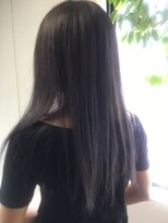 ヘアーメイク プリュム(Hair make Plume)ダークグレーカラー