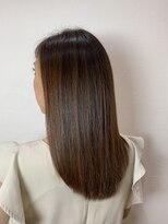 キャラ 池袋本店(CHARA)髪質改善ツヤツヤベージュカラー【キャラ池袋/chara池袋】*