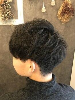 グラシア ヘア(gracia hair)の写真/【四日市】近鉄四日市駅すぐ☆駐車場も完備しているビジネスマン向けの通いやすいサロン◎
