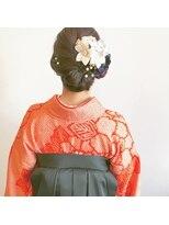 卒業式袴スタイル…*