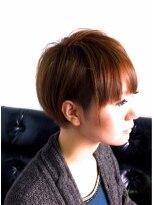 ヘアーカーブ(haircarve)haircarve★2014・アシメ☆ボブショート