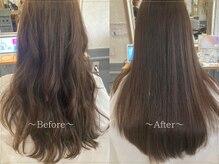 サンクチュアリー 千里山(Sanctuary)の雰囲気(【髪質改善】髪質に合わせたオージュアトリートメントで艶髪に)
