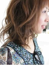 ヘアー メイク ラジック 砥堀店(Hair Make RASIC)ふんわりルーズウェーブ