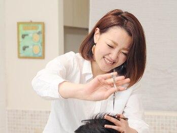 テットの写真/≪お子様同伴OK≫美容を通して笑顔をお届け♪きめ細かなサービスで幅広い年代の方に人気のヘアサロン♪