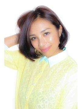 ミンクス 銀座店(MINX)【MINX銀座】蛭田佑介「耳掛け大人ボブ」