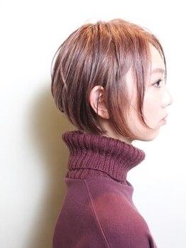 ホルム(HolMe)の写真/『独自の立体ベースカット』を基に、最適な毛量調整、質感調整ご提案させて頂きます♪