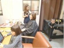 ベック ヘアサロン(BEKKU hair salon)の雰囲気(『お子様とご一緒に』ゆったりとお過ごしいただけます☆)