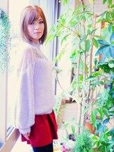 ノーブル ヘア ガーデン(Noble hair garden)【ノーブル】シルキーボブ×スロウカラー 【レシピ公開】