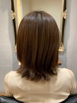 クローバー 本店(CLOVER)の写真/あなたに似合うカラーをご提案☆2つの美容液成分配合『美容液発想のヘアカラー』うる艶UP◎