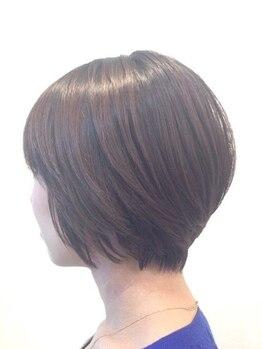 イナクト ヘアー(ENACT.hair)の写真/簡単スタイリングで毎朝ラクラク♪お手入れのしやすさにこだわった再現性の高いスタイル提案が魅力!