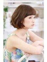 キエマ(Kiema)【Kiema★】大人美髪 ラフに決まる ヌーディーボブ